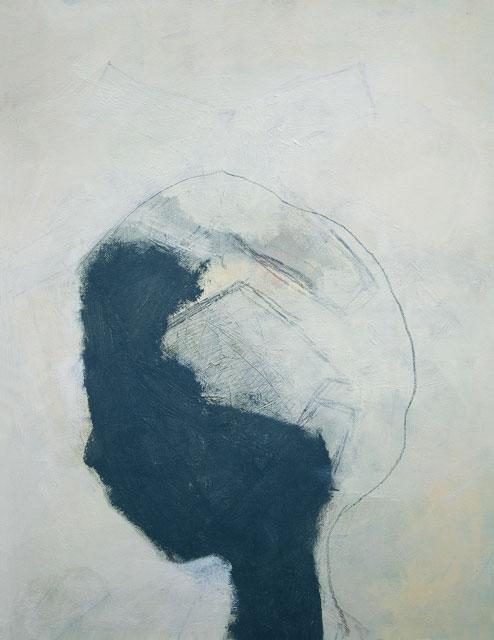 portret van een gedachte